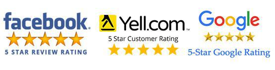 click here to read our 5* reviews on facebook, google and yell.com